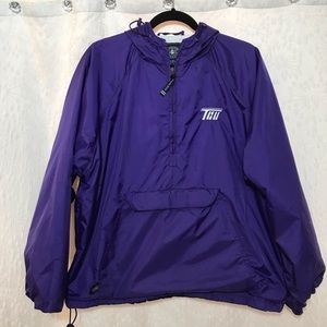 Charles River TCU Pullover Rain Jacket Size M